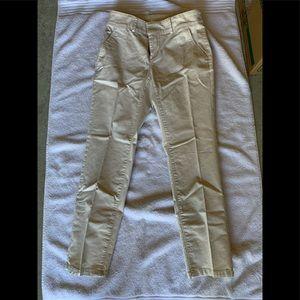 Loft never worn straight leg ankle pants